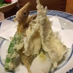 63613313 - 宇和海 キスの天ぷら  700円