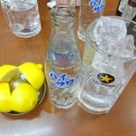 63613947 - レモンサワー(1) ※レモンは二人分