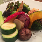 鶴のひとこえ - 野菜のオーブン焼き柚子ドレッシング仕立て