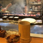 焼とり弁慶 - 煙被り