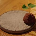 sio - カカオニヴ、フォアグラ、苺