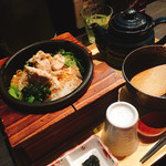 63618934 - 鶏×柚子胡椒のお茶漬け ¥980