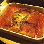 塊肉ステーキ&ワイン Gravy'sFactory - ラザニア(734.4円)