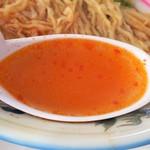 そばの店 ひらま - スープ
