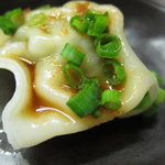 つけ麺 工藤 - 水餃子