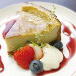 ムモクテキカフェ - チーズを使わずに作った、オリジナルベイクドチーズケーキ