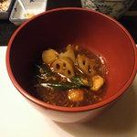 廣東料理 翠雲苑 - 冬野菜の麻婆風