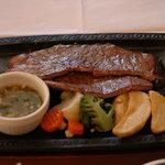 ステーキガスト - 薄切ステーキ ねぎ塩ソース 120g