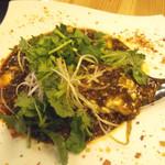 GoGoパクチー - パクチー麻婆豆腐(2人分)
