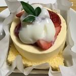 63621190 - 完熟苺と和三盆のムースリーヌ