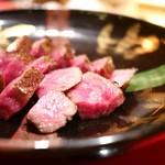 にくの匠 三芳 - 川岸牧場 神戸牛ロース 炭焼き