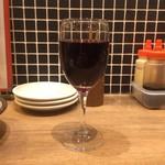 骨付鳥、からあげ、焼鳥 がブリチキン。 - 赤ワイン