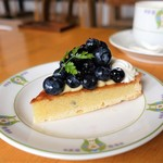 万平ホテル カフェテラス - 料理写真:ブルーベリータルト