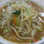 餃子の王将 - 春の野菜煮込みラーメン(期間限定)