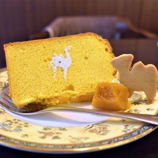 森のらくだ - 料理写真:シフォンケーキ