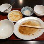 中華料理 大福楼 - キクラゲと玉子の炒め定食(大盛)700円