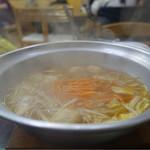 藤ヶ丘食堂 - とり鍋☆