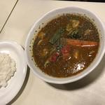 アジアン食堂 スーリヤ - ラム・野菜スープカレー(1,166円)