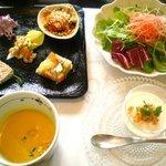 ラ ロテュス - 前菜・サラダ・アミューズ・スープ