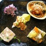 ラ ロテュス - 蛍セットの前菜