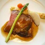 ラ ロテュス - 肉料理メイン・ローストビーフ