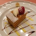 ピッツェリア・サバティーニ - キャラメル風味のミルクチョコレートムース