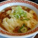 紅虎厨房 - えびワンタン麺