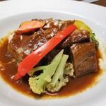 トラットリア・モキチ - 名物!豚バラ肉の湘南ビール煮