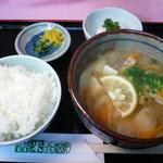 善米食堂 - 大分名物だんご汁定食