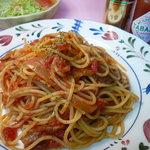 善米食堂 - トマトソーススパゲティー