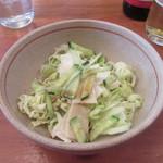 キッチン・オバサン - セットの「サラダ」