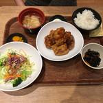 米どころん - 鶏の唐揚黒酢タルタル定食