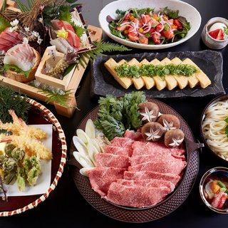 京都にこだわった料理長厳選の食京料理