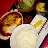 レスト喫茶 エスカルゴ - 料理写真:チーズハンバーグ定食