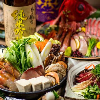 豪華宴会コースは料理7品2000円~多数ご用意!