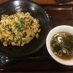 花屋 - ピリ辛明太高菜チャーハン630円