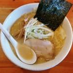 麺や 白 - 味噌(※500円)