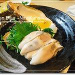 海団治 - 生牡蠣ポン酢¥500