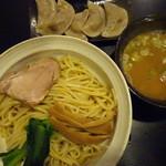 63653700 - 秋刀魚つけ麺・水餃子