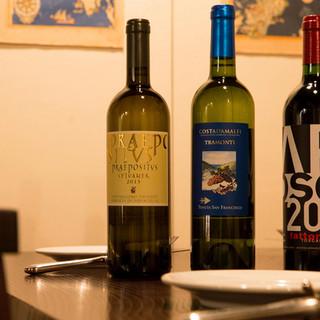 赤白問わずに料理に寄り添う厳選イタリアワイン