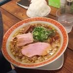 麺屋 Somie's - 醤油ラーメン&ご飯・並