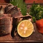 63655536 - 秋刀魚の炙り