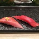 梅丘寿司の美登利総本店 - メジ鮪、まぐろの赤身