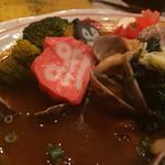 63657471 - チキンとアサリのスープカレー