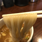 ガガナラーメン 極 - ガガナホルモンつけ麺880円