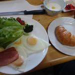 マナスル山荘 本館 - 朝食