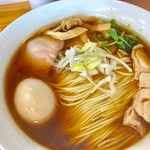 ゆうき屋 - 味玉醤油らーめん(大盛)+チャーシュー【料理】