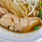 ゆうき屋 - 鶏チャーシューはモモ肉です【料理】