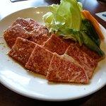 じゅうじゅう亭 - ランチメニュー:上ロース肉(2人前)