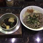 つけ蕎麦 六文銭 - 魚介つけ蕎麦 冷 ¥780-(カツオ風味 400g)